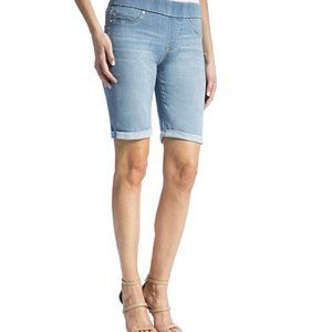 Liverpool Sienna Pull-on Rolled-Cuff Bermuda Short